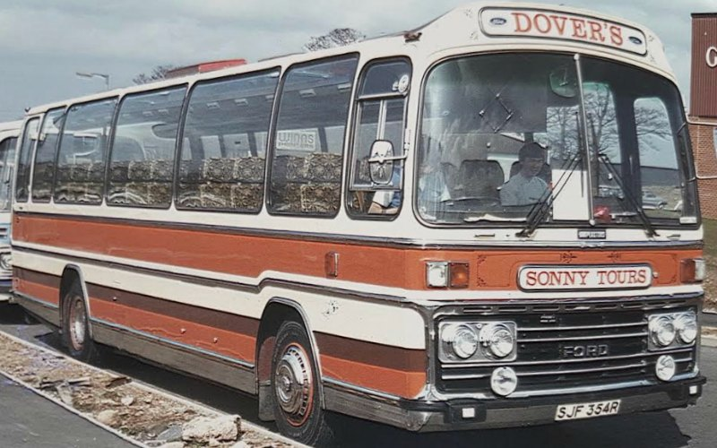 Dovers Coaches History fleet through the years
