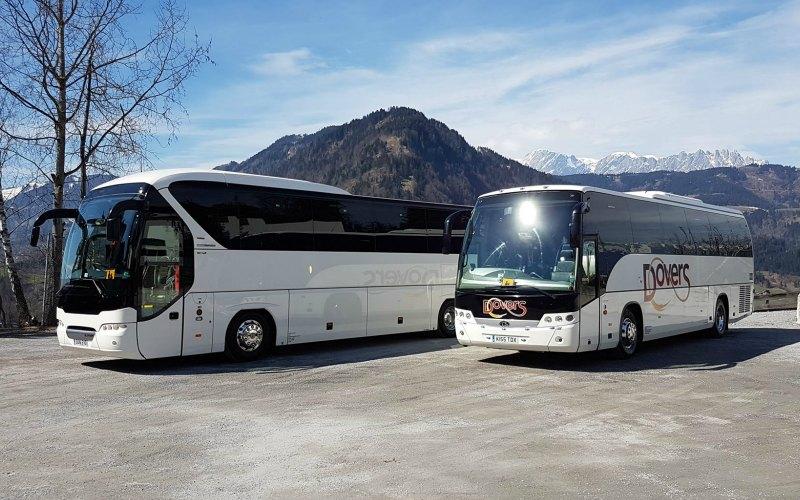 Dovers Coachs Modern Fleet